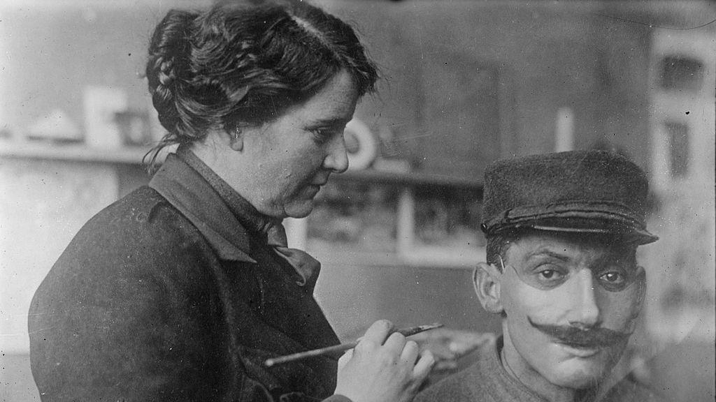 Anna Coleman, la escultora que devolvió el rostro a los soldados de la Primera Guerra Mundial