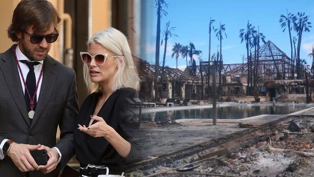 El club de Rosauro Varo, calcinado: los planes del novio de Amaia Salamanca tras el incendio de Purobeach