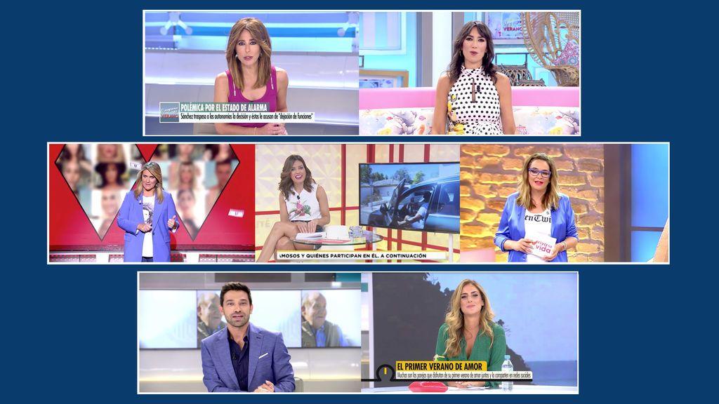 El entretenimiento del day time de Telecinco bate récords en agosto