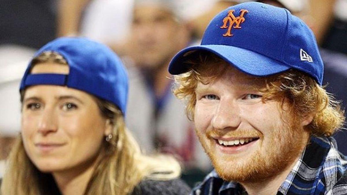 Ed Sheeran y su esposa Cherry Seaborn anuncian el nacimiento de su primera hija