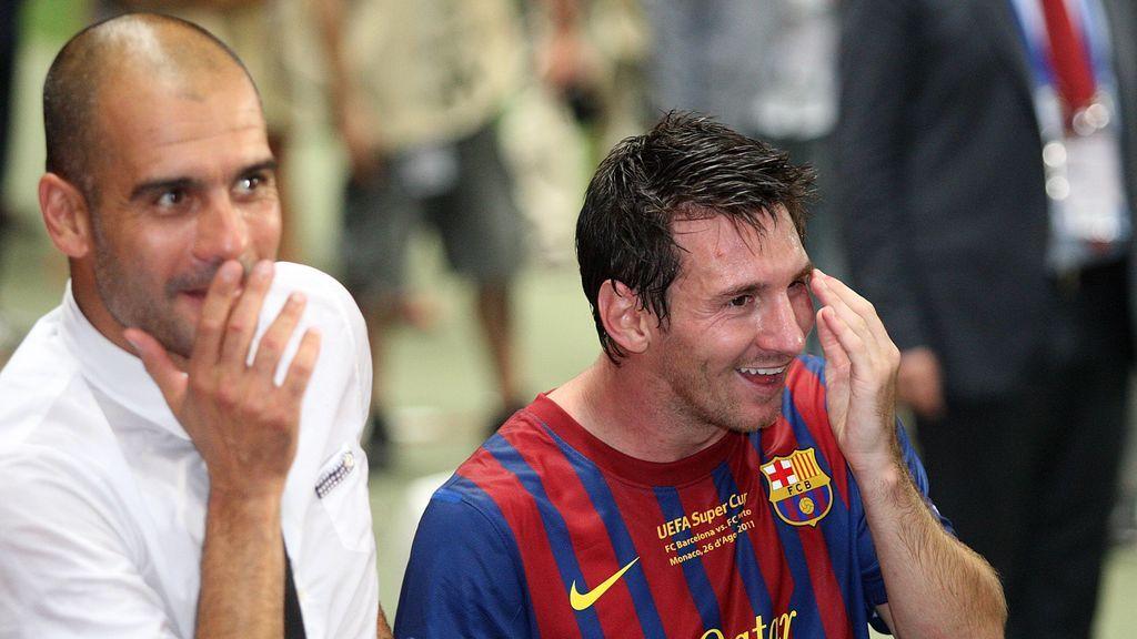 Guardiola intentó convencer a Messi para seguir en el Barça por la dificultad económica para ficharle