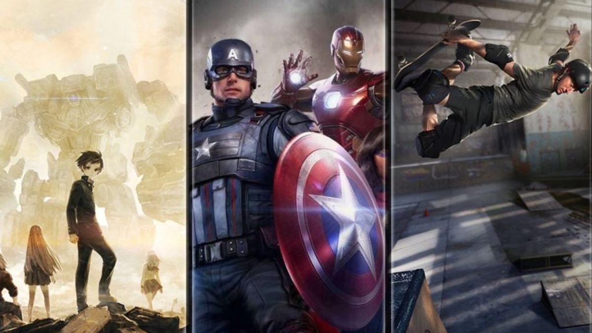 13 Sentinels: Aegis Rim, Marvel's Avengers y Tony Hawk's Pro Skater 1 + 2