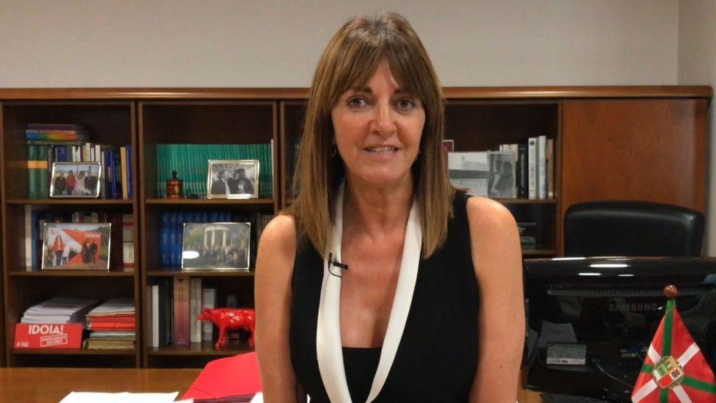 Idoia Mendia confirma que formará parte del nuevo Gobierno de Urkullu