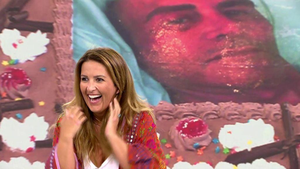 Laura Fa cumple años: de la tarta con la cara de Matamoros al mensaje de Santiago Segura y la no felicitación de Carmen Borrego