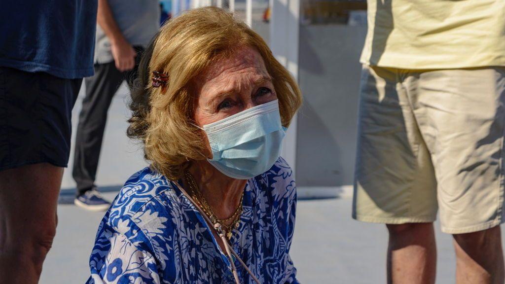 La reina Sofía, entre lágrimas en su primer acto público en Mallorca: la emérita recupera su agenda tras la polémica