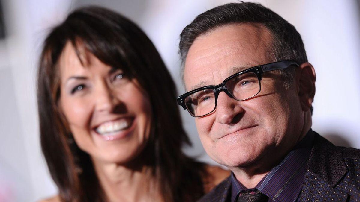 """La viuda de Robin Williams dice que fue """"perseguido por un monstruo invisible"""" en sus últimos meses"""