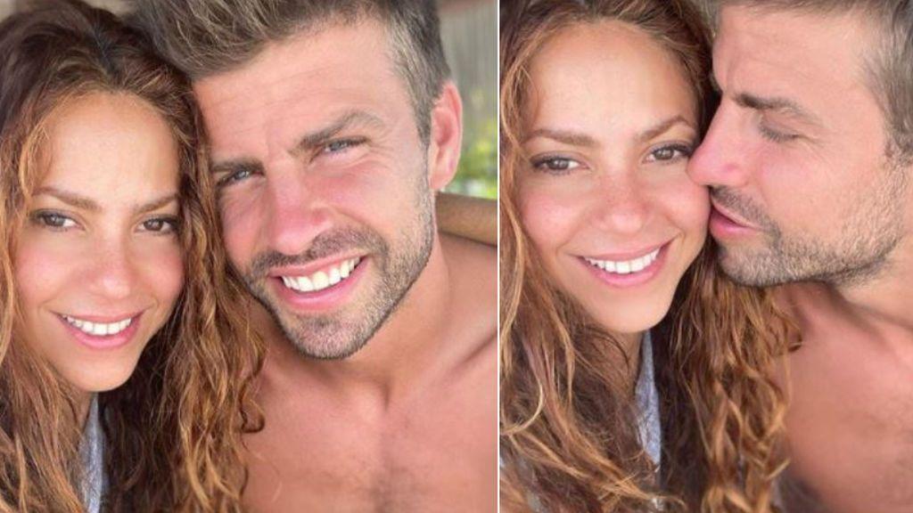 """El apoyo de Shakira a Piqué en plena crisis del Barça: """"Juntos"""""""