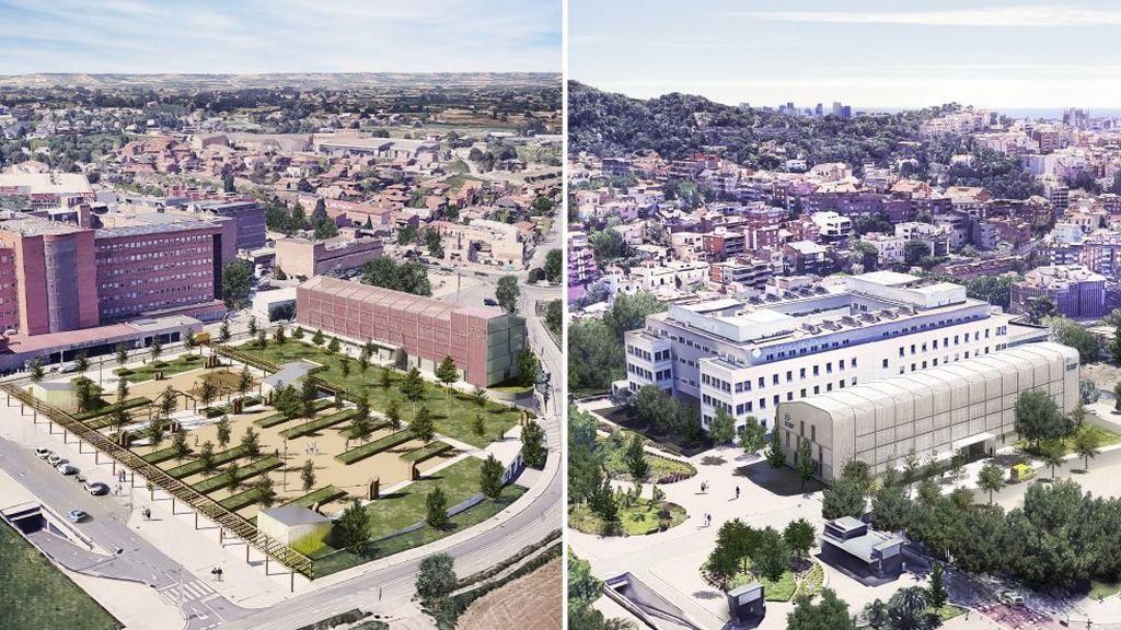 Así serán los 5 hospitales satélite para pacientes Covid que construye la Generalitat