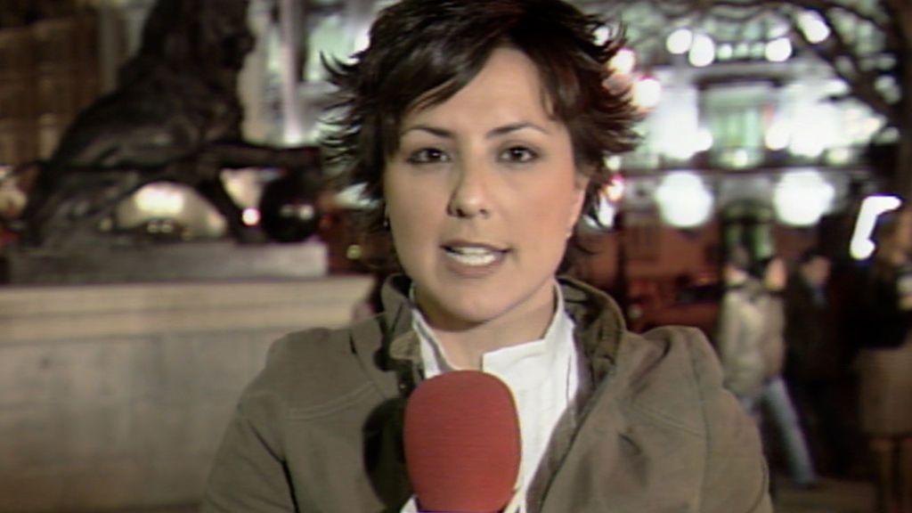 Sonsoles Ónega debutó como reportera en Informativos Telecinco hace doce años
