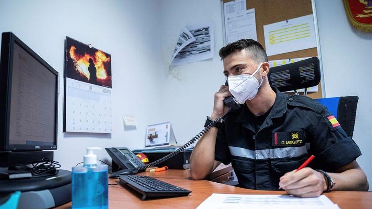 Eloy, rastreador militar, cuenta las claves de su trabajo
