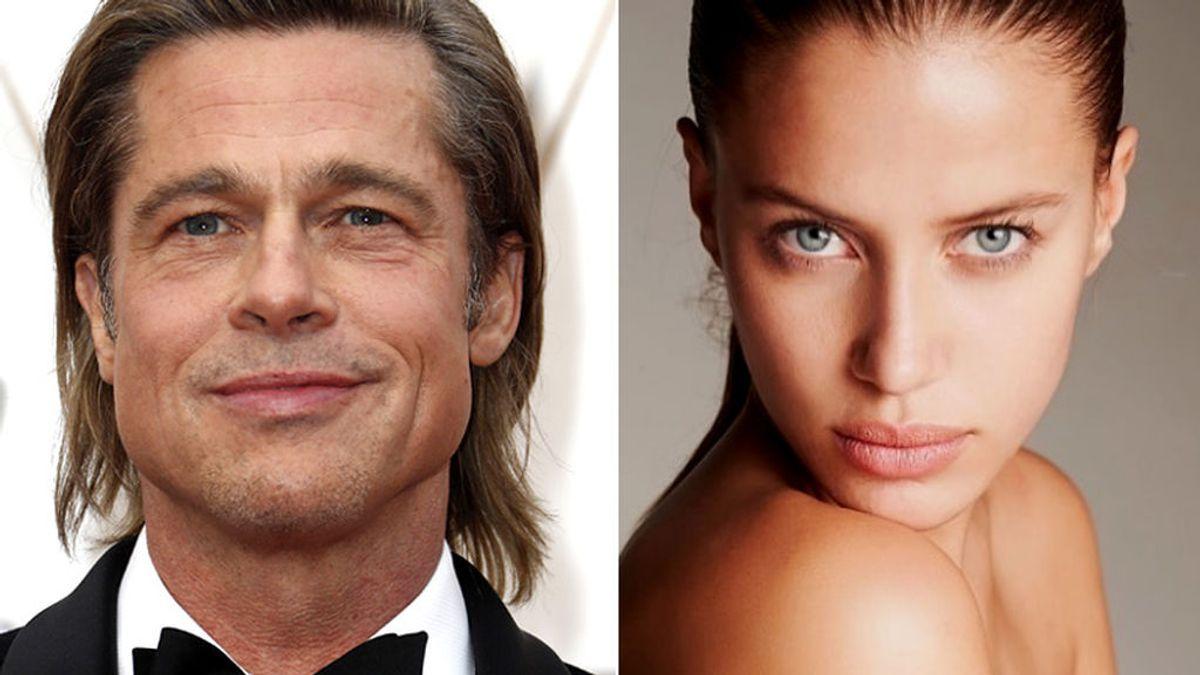 Brad Pitt y su nueva pareja, Nicole Poturalski