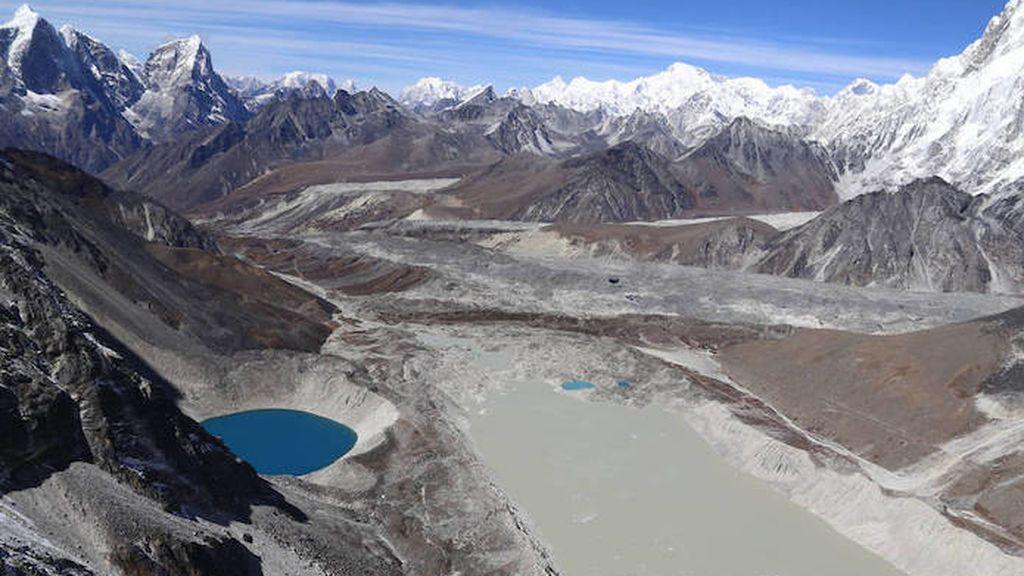Los lagos formados por el deshielo de glaciares han crecido un 50 % en solo 30 años