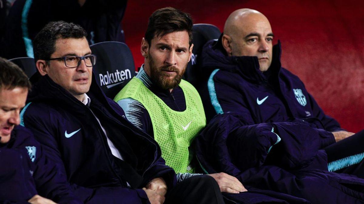 Un año en la grada sin jugar: la opción que estudia Messi si el Barça se cierra en banda a dejarlo salir gratis