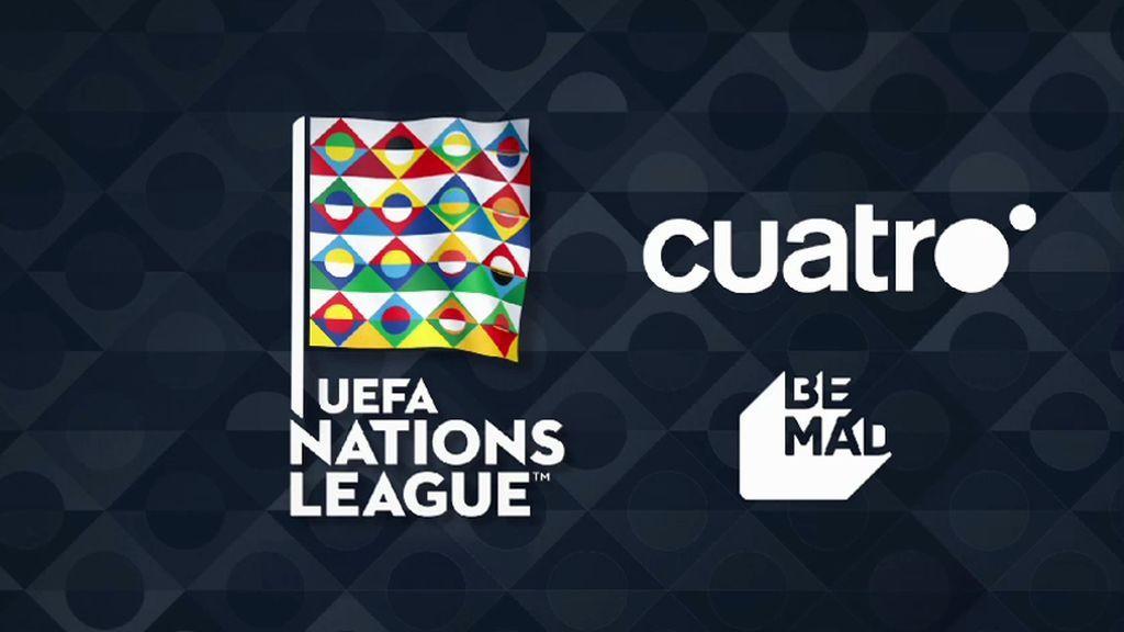 Mediaset España inicia las retransmisiones de la segunda edición de la UEFA Nations League