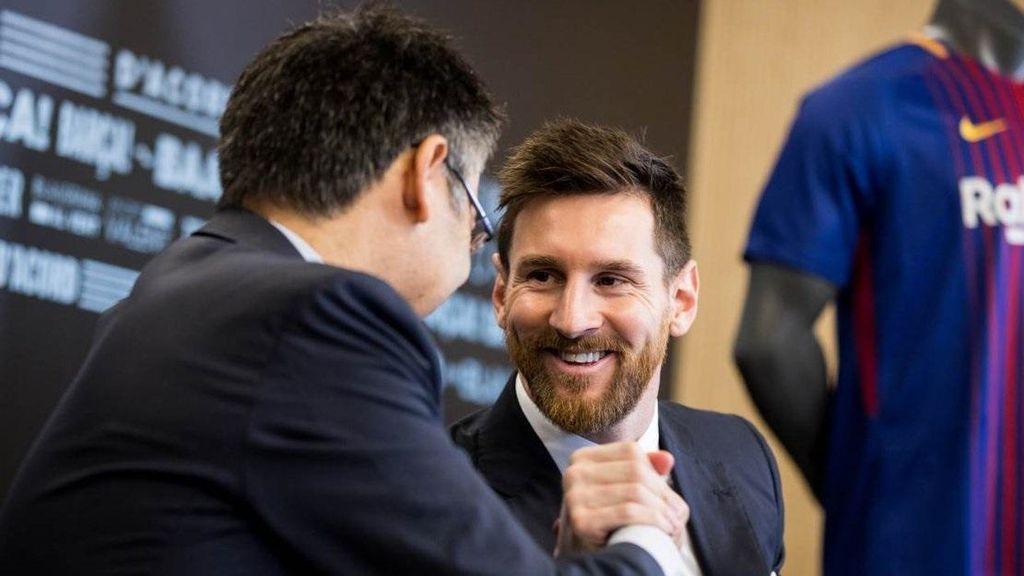 Messi y Bartomeu, sin acuerdo tras la reunión con su padre: el argentino pide irse libre y el Barça la cláusula
