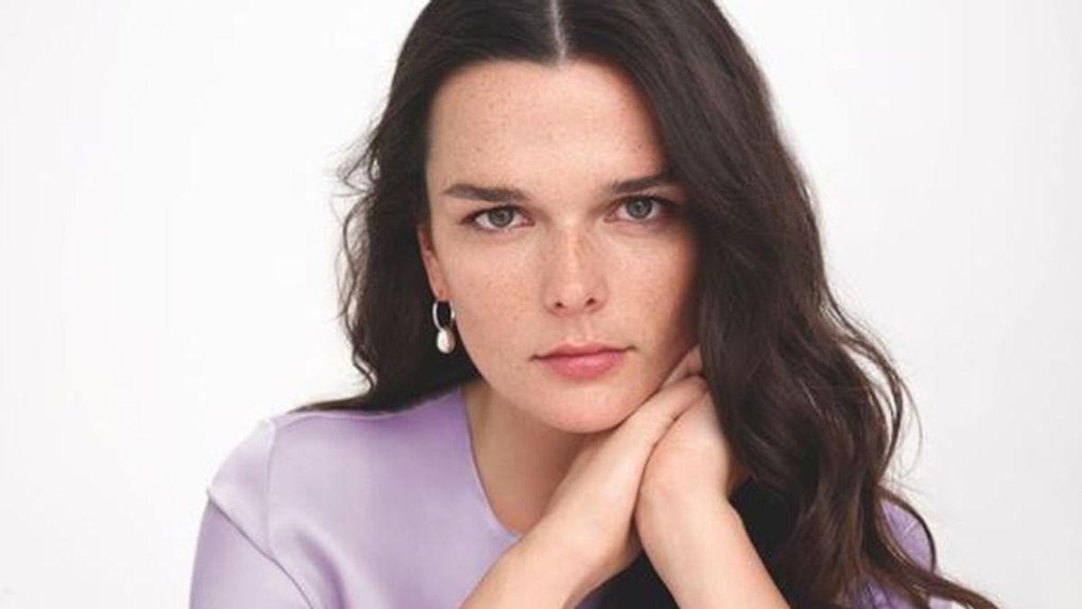 La modelo Maxine Heron