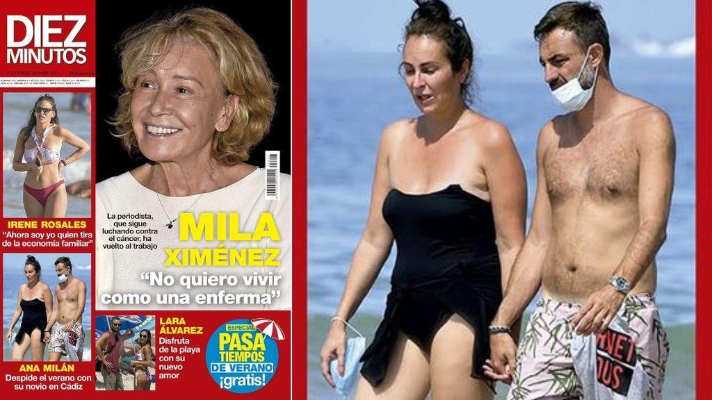 Ana Milán, en portada junto a su novio