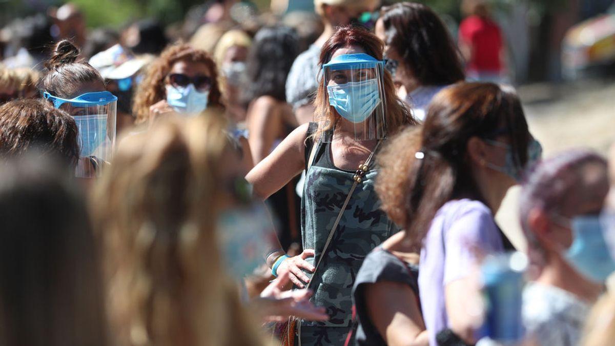 Sigue el repunte de contagios en España: 3.663 en las últimas 24 horas, casi mil más que el día previo