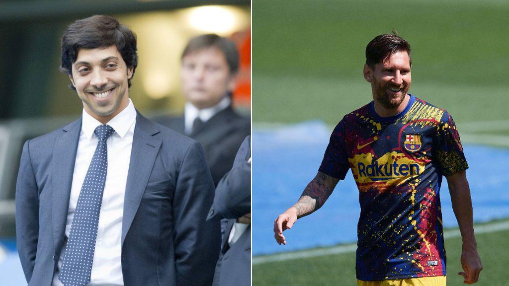 El jeque del City ofrece a Messi ser accionista de una de sus millonarias empresas si ficha por el club