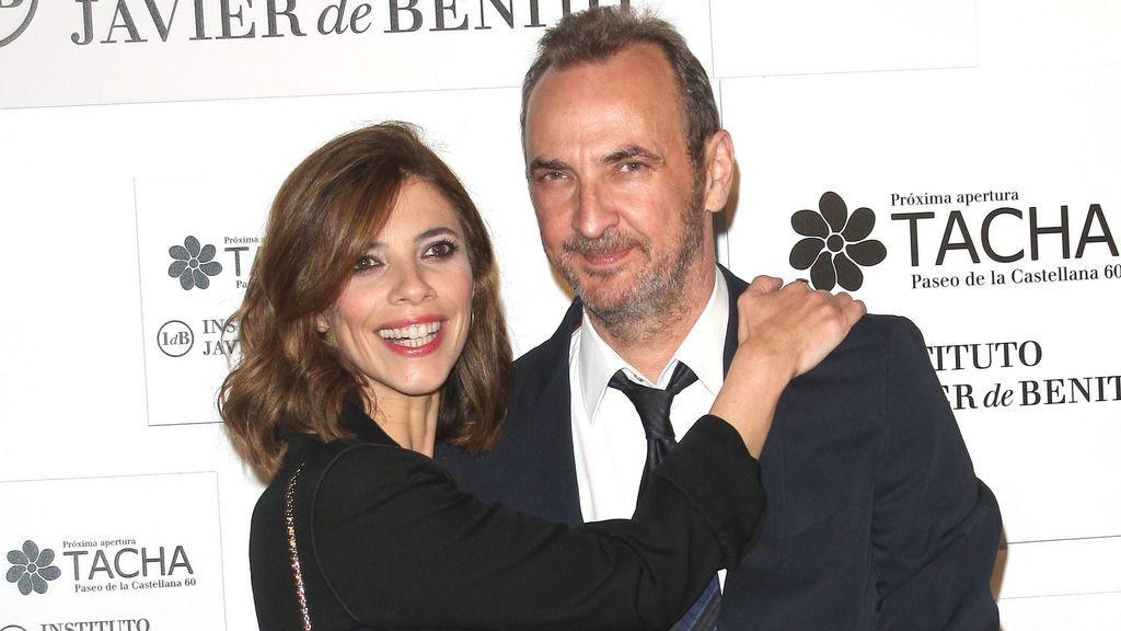 Maribel Verdú junto a Pedro Larrañaga