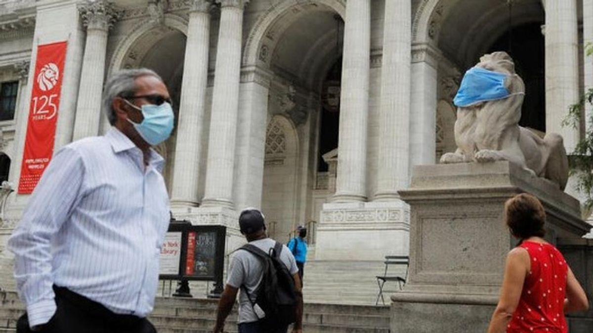 EE.UU, el país más golpeado por la pandemia,  supera las 184.500 muertes por  covid19