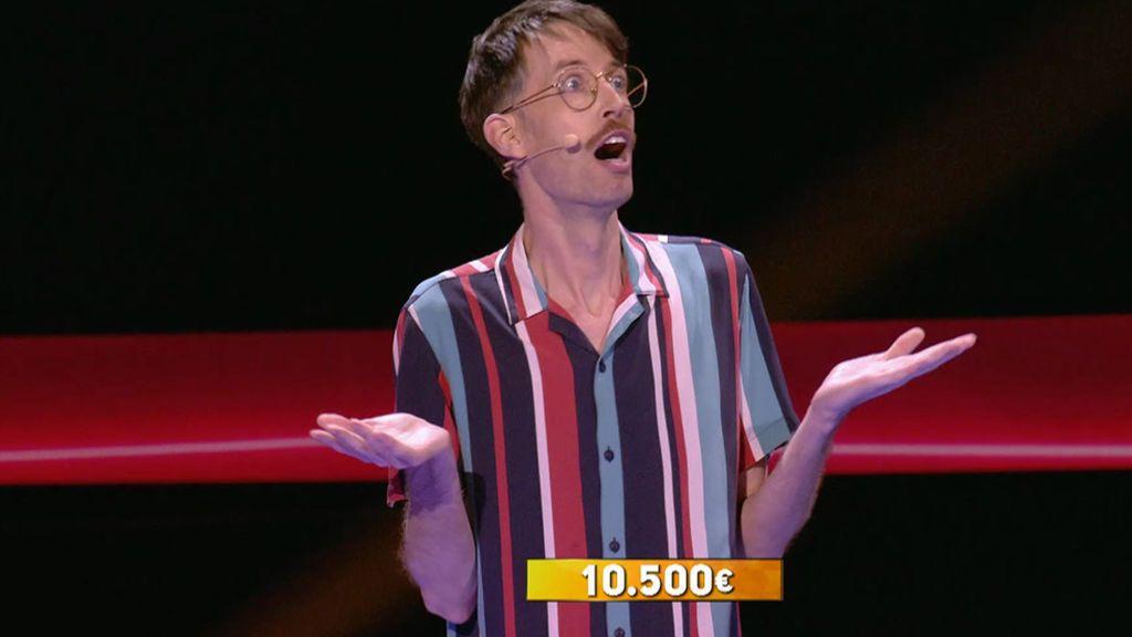 La intuición de Richard le hace llevarse 10.500 euros en el talento final