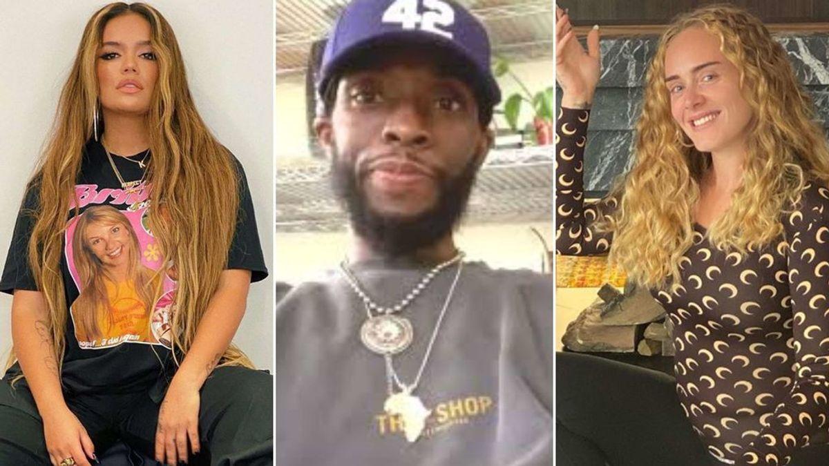 Karol G, Chadwick Boseman o Adele: famosos que han sido juzgados por su aspecto físico