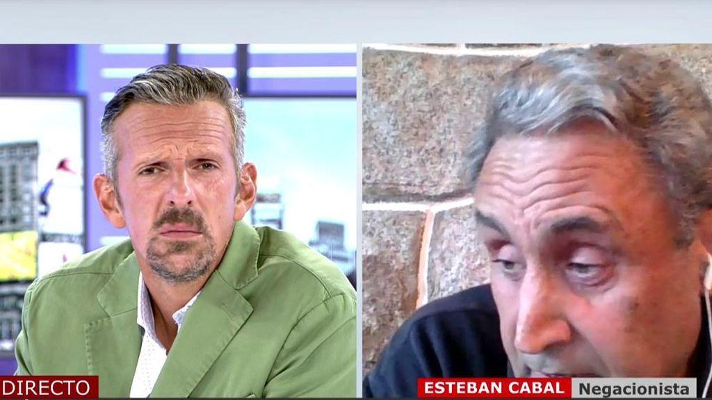 Entrevista Joaquín Prat y negacionista.