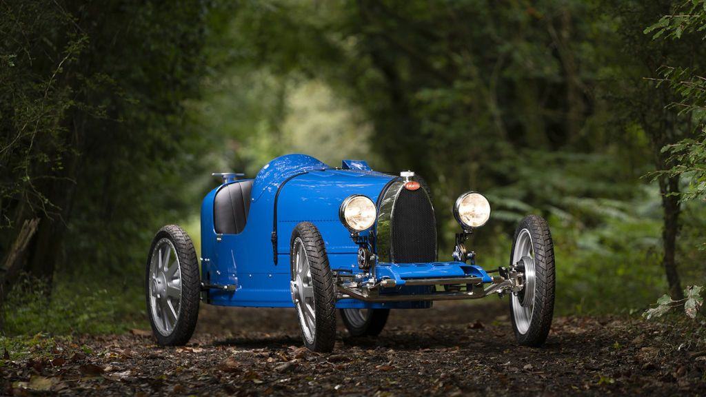 Bugatti Baby II: el exclusivo modelo con solo 500 unidades