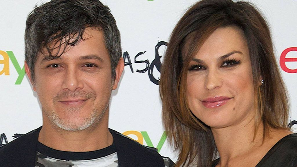Alejandro Sanz y Raquel Parera, en una imagen de 2014