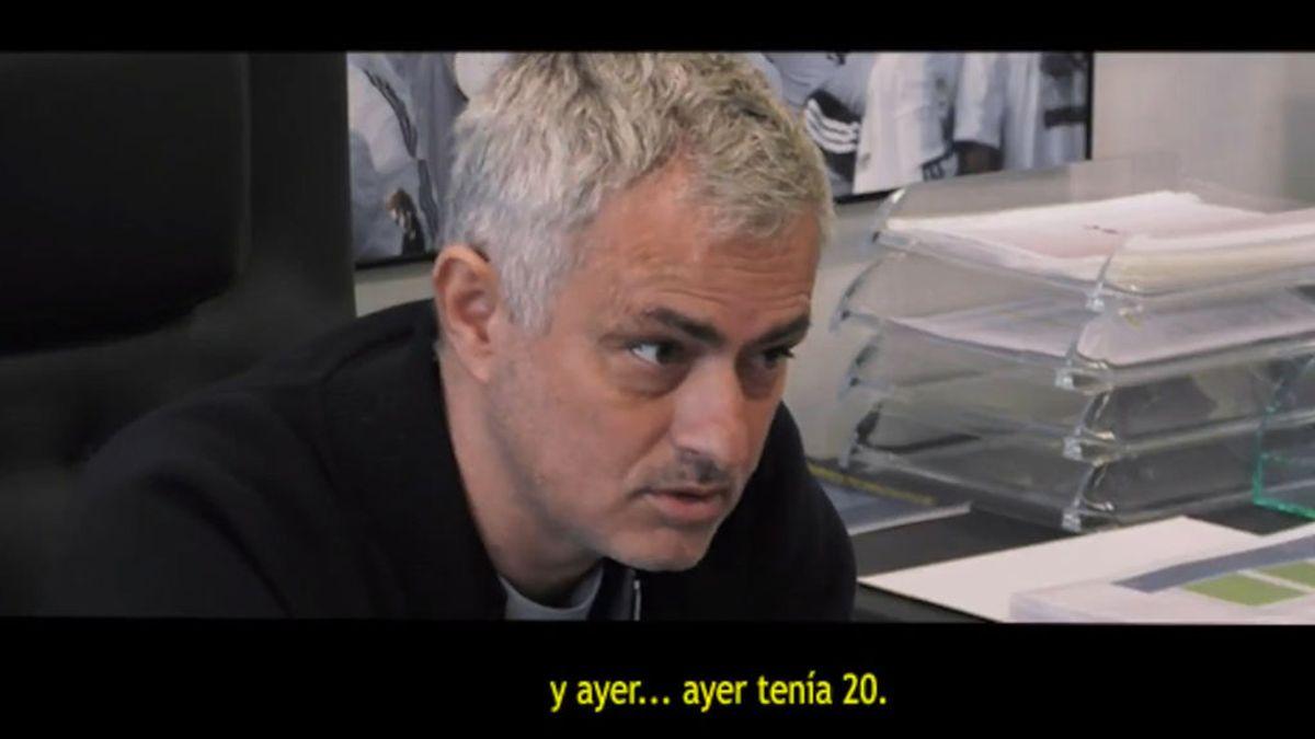 """La charla ejemplar de madurez de Mourinho a un jugador: """"Tengo 56 y ayer tenía 20, el tiempo vuela"""""""