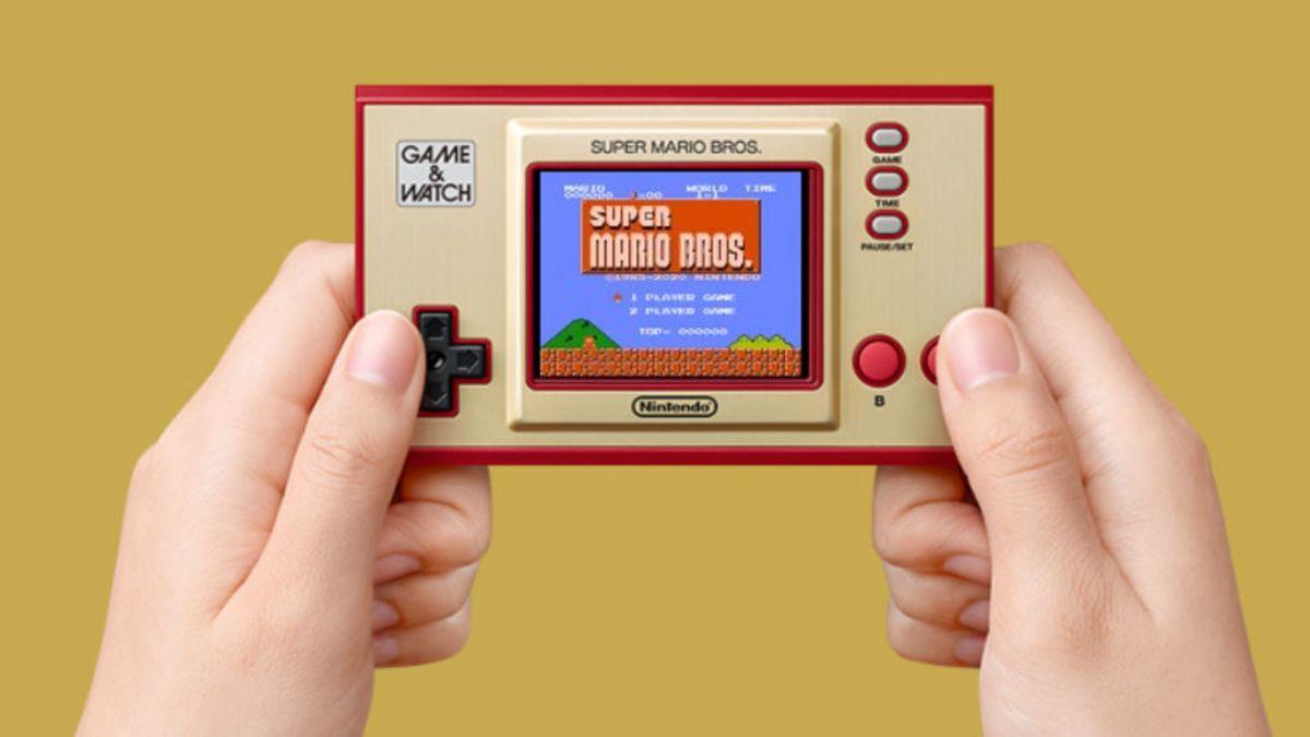Nintendo lanzará una Game & Watch especial Super Mario Bros.