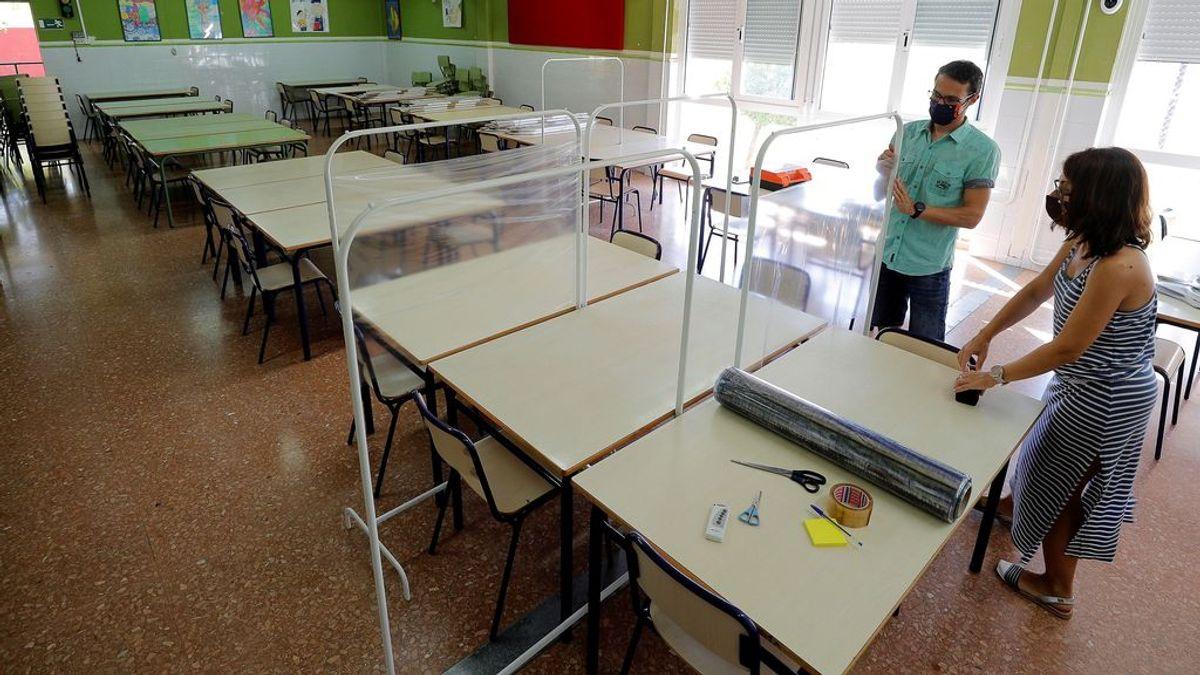 Los cinco 'imposibles' de la vuelta al cole: desinfectar  pelotas, ventilar en enero en Burgos o que a los 6 años no se toquen la mascarilla