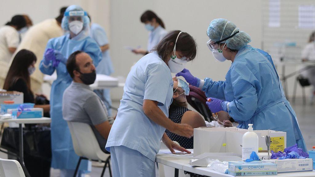 Sanidad anota 8.959 contagios de coronavirus y 40 muertes en el último día