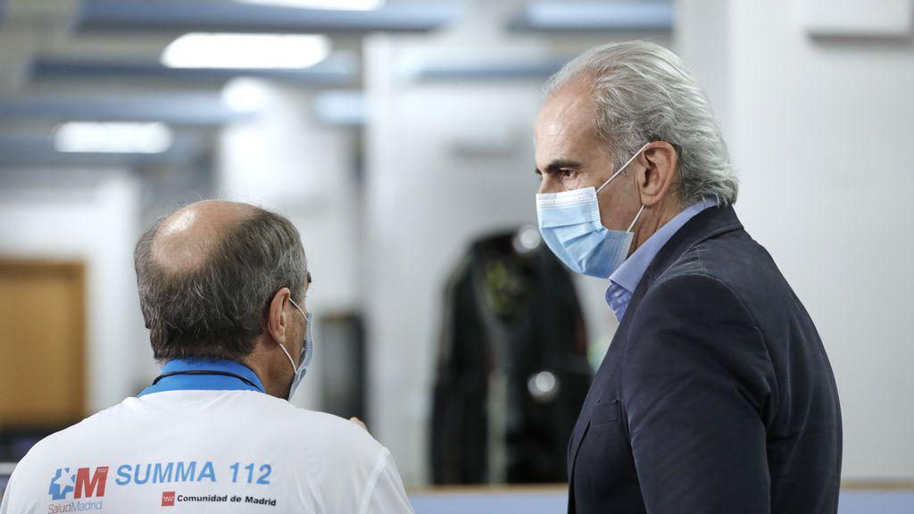 """Sanidad actuará con """"contundencia"""" contra el médico de Madrid que emite certificados falsos para no llevar mascarilla"""