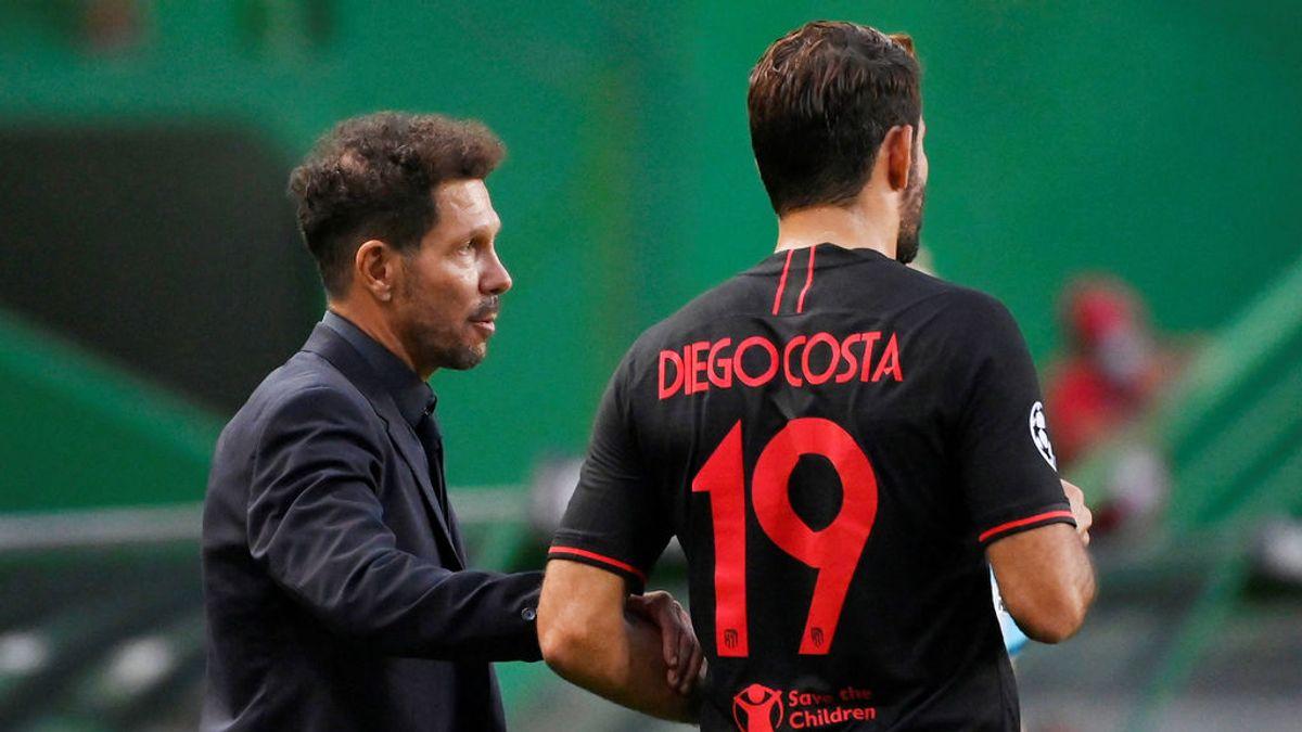 El Atlético de Madrid informa del positivo por coronavirus de Diego Costa y Santiago Arias