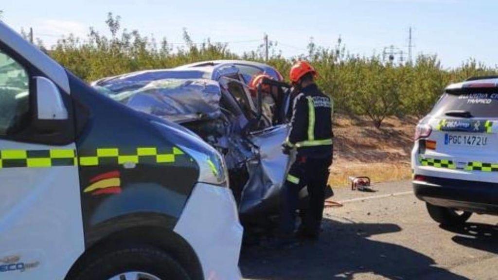 Una pareja de médicos y su hija de 14 años mueren en un accidente de tráfico en Huesca
