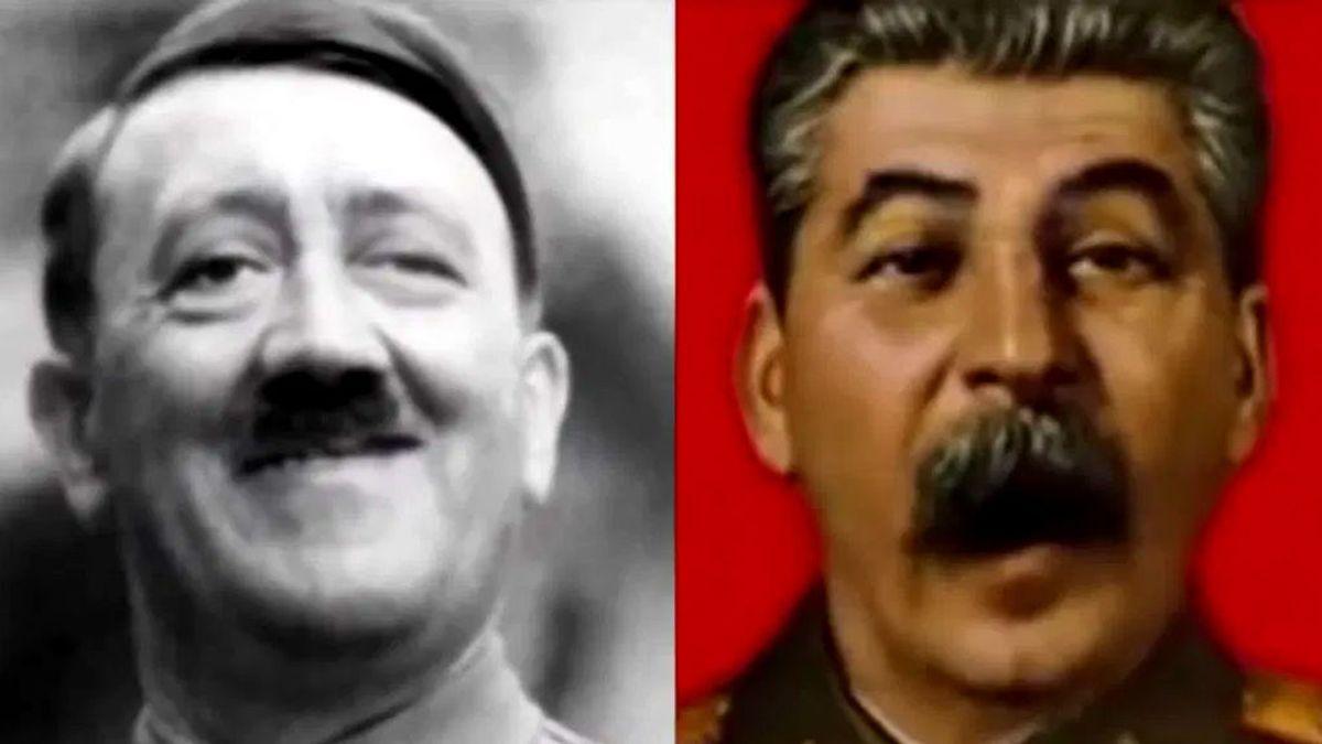 El vídeo del día: Hitler y Stalin cantan 'Vídeo killed the radio star'