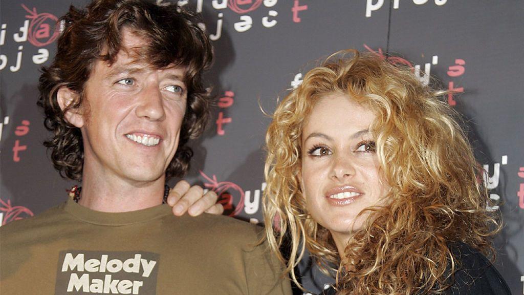 Paulina y Colate, cuando eran pareja