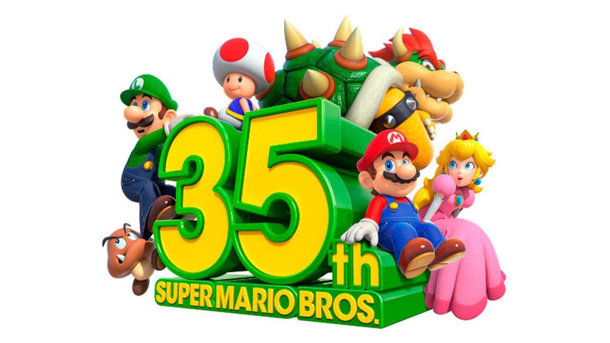 Nintendo celebra el 35 cumpleaños de Super Mario Bros. con juegos y eventos