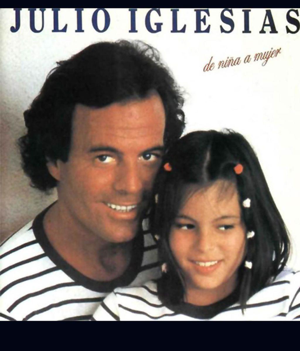 De niña a mujer, la canción que Julio Iglesias dedicó a su hija Chábeli