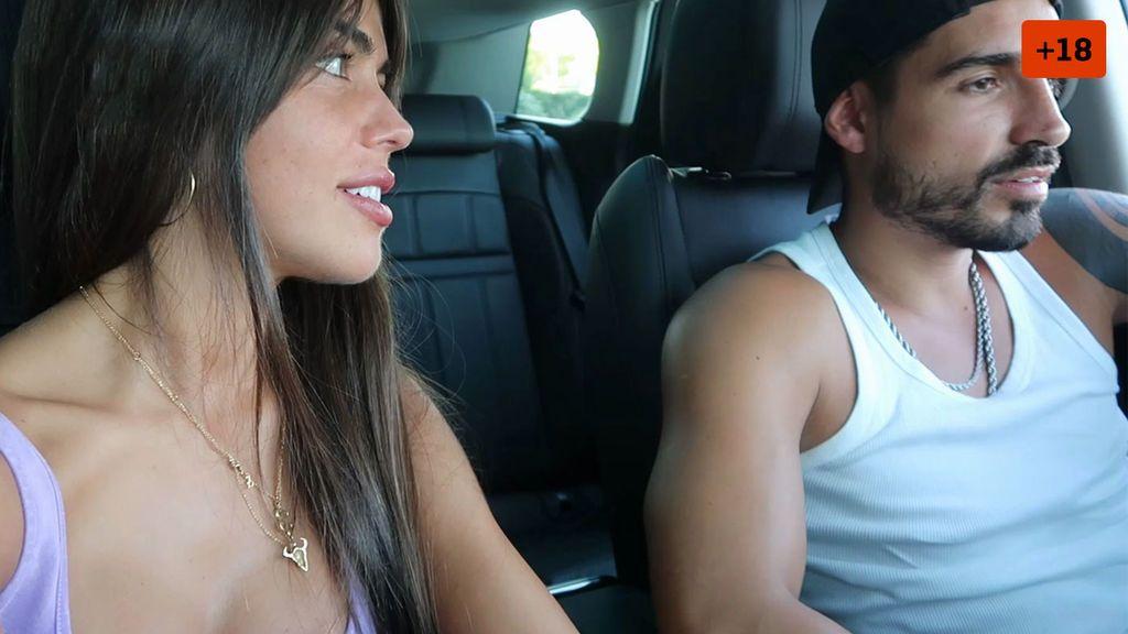 """Violeta y Fabio ponen a prueba su relación y se sinceran: """"Es un error alargarlo"""" (2/2)"""
