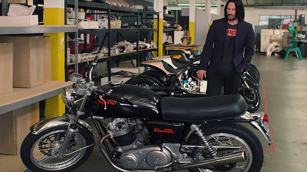 Norton Commando850, la historia tras la moto fetiche de Keanu Reeves