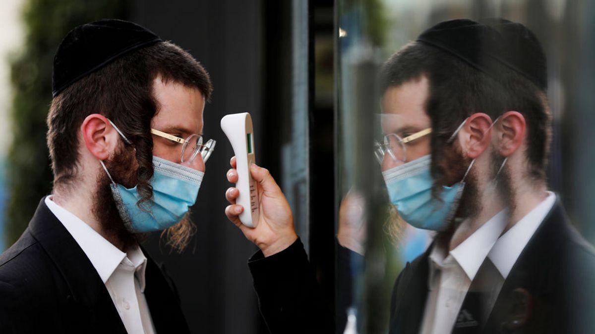 Israel confina 30 ciudades tras un récord de contagios de coronavirus
