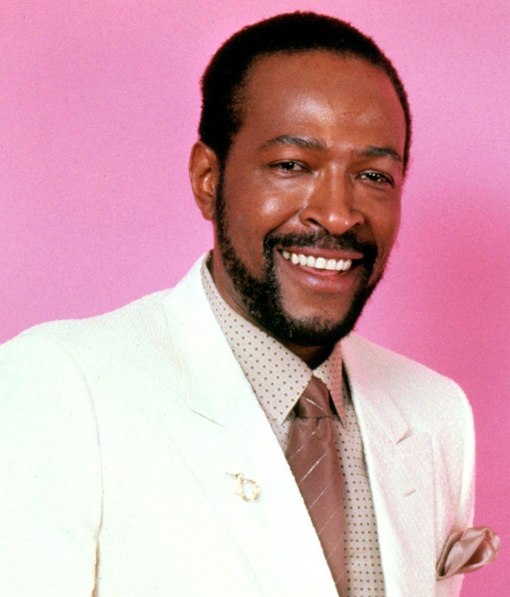 Marvin Gaye, en una imagen promocinal de 'Motown' (1983)