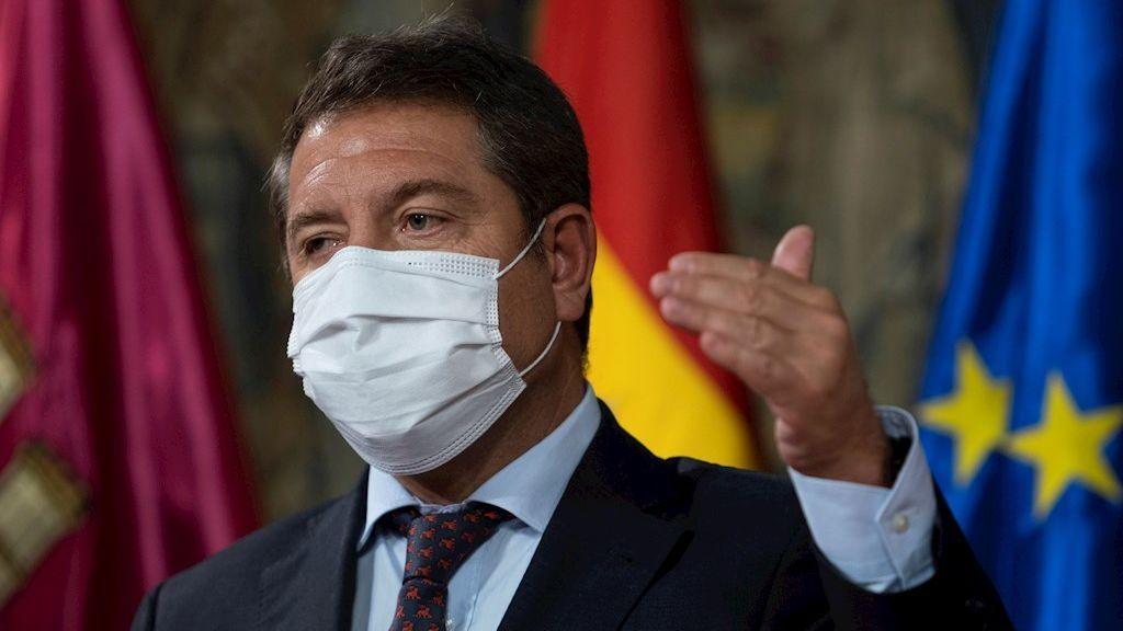 """García-Page aclara que """"Madrid no ha provocado el virus"""" sino que lo ha padecido"""