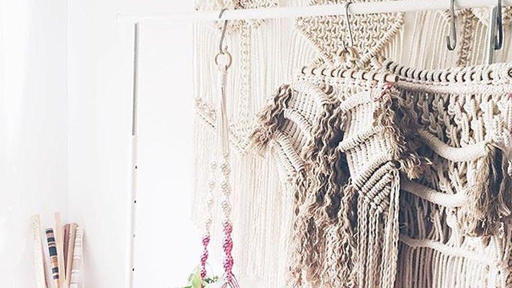 Tapices, cortinas, lámparas... Cómo decorar tu casa con macramé