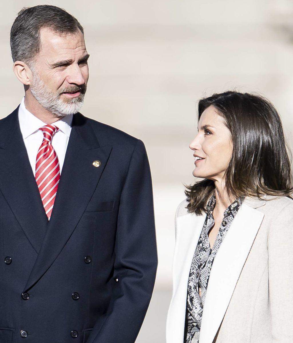 Felipe y Letizia contrajeron matrimonio el 22 de mayo de 2004