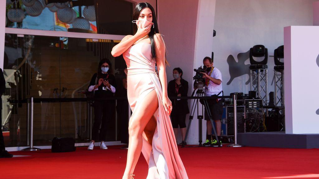 Georgina Rodríguez, en el festival de Venecia