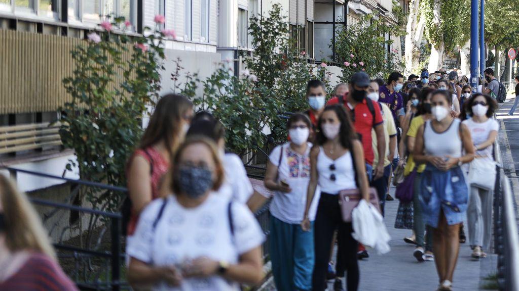Madrid suma otros 2.254 contagios de coronavirus y roza los 2.000 hospitalizados